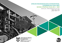 African Renaissance and International Cooperation Fund (ARF) Revised Strategic Plan 2015 - 2020 and Annual Performance Plan 2018 - 2019
