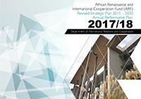 Revised African Renaissance and International Cooperation Fund (ARF) Strategic Plan 2015 - 2020 and Annual Performance Plan, 2017 - 2018