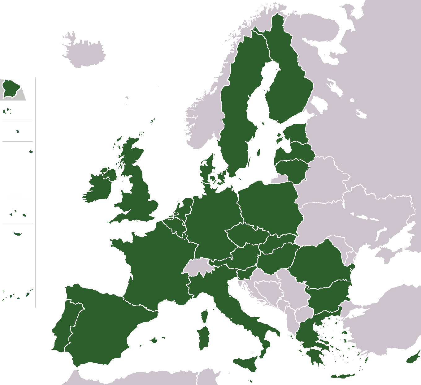 European Union Maps