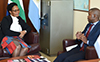 Interview with South Africa's Ambassador to the Republic of Argentina, Ambassador Phumelele Gwala, Buenos Aires, Argentina, 21 May 2018.