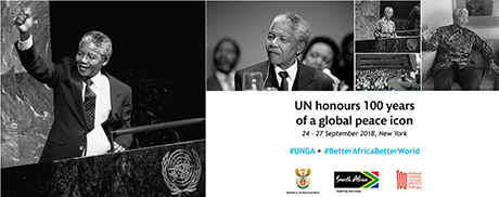 UN honours 100 years of a global peace icon - Nelson Mandela
