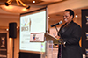 Deputy Minister Reginah Mhaule delivers the Keynote Address at the BRICS Business Stakeholders Engagement event, Emperors Palace, Kempton Park, Ekurhuleni, South Africa, 22 June 2018.