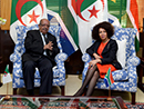 Bilateral Meeting between Minister Lindiwe Sisulu and the Minister of Foreign Affairs of the People's Democratic Republic of Algeria, Mr Abdelkader Messahel, Cape Town, South Africa, 29 August 2018.
