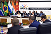 Minister Lindiwe Sisulu opens the Second Formal BRICS Foreign Affairs/International Relations Ministers Meeting, OR Tambo Building, Pretoria, South Africa, 4 June 2018.