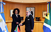 Bilateral Meeting between Minister Lindiwe Sisulu and the Minister of Foreign Affairs to the Argentine Republic, Jorge Faurie, Buenos Aires, Argentina, 22 May 2018.