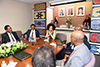 Minister Lindiwe Sisulu hosts a celebratory lunch with SADC Group, South African Delegation and Mission Staff, New York, USA, 8 June 2018.