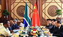 Bilateral Meeting between the Minister of International Relations and Cooperation, Dr Naledi Pandor, and Yang Jiechi (Member and Foreign Affairs Director of the Politburo of the Central Committee of the Communist Party of China). Beijing, People's Republic of China, 25 June 2019.