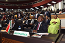 President Cyril Ramaphosa attends the 12th Extraordinary Session of the Assembly of Head of State and Government of the African Union (AU), Niamey, Niger, 7 July 2019.