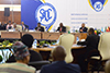 President Cyril Ramaphosa at the SADC Solidarity Conference with the Sahrawi Arab Democratic Republic (SADR) or Western Sahara, Pretoria, South Africa, 25-26 March 2019.