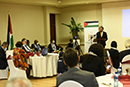 Deputy Minister Alvin Botes participates in the commemoration of the annual United Nations (UN) International Day of Solidarity with the Palestinian People, Lombardy Hotel and Conference Centre, Pretoria, South Africa, 30 November 2020.