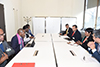 Bilateral Meeting between Deputy Minister Alvin Botes and the Deputy Minister of Justice of Namibia, Ms Lidwina Shapwa, at the High-Level Segment of the 43rd Session of the United Nations (UN) Human Rights Council, Geneva, Switzerland, 26 February 2020.