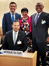 Deputy Minister Alvin Botes attends the Official Opening Session of the High-Level Segment of the 43rd Session of the United Nations (UN) Human Rights Council, Geneva, Switzerland, 24 February 2020.