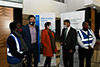 Deputy Minister Alvin Botes visits the COVID-19 Humanitarian Staging Area, OR Tambo International Airport (ORTIA), Kempton Park, South Africa, 1 July 2020.