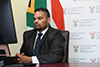Deputy Minister Alvin Botes addresses a High-Level Symposium on Women, Peace and Leadership, Pretoria, South Africa, 16 September 2020.