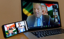 "Deputy Minister Alvin Botes addresses the International Youth Day Virtual Dialogue on Silencing the Guns in our lifetime: Peace and Security Agenda, under the theme: ""Youth Engagement for Global Action"", Pretoria, South Africa, 12 August 2020."