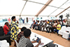 "Deputy Minister Candith Mashego-Dlamini participates in a ""Back-to-School"" Outreach, Manzini Combined School, Mpumalanga, South Africa, 7 February 2020."