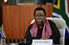 Minister Naledi Pandor participates in the Virtual Extraordinary G20 Foreign Ministers' Meeting, Pretoria, South Africa, 3 September 2020.
