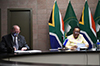 Minister Naledi Pandor participates in the IBSA Joint Ministerial Meeting on Reform of the United Nations (UN) Security Council, Pretoria, South Africa, 16 September 2020.
