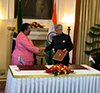 Signing of the Joint Communiqué of the 10th Session of the South Africa – India Joint Ministerial Commission (JMC) by Minister Naledi Pandor and the Minister of External Affairs of India, Dr S Jaishankar, New Delhi, India, 17 January 2020.