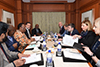 Bilateral Meeting between Minister Naledi Pandor and the Minister of Foreign Affairs of Estonia, Mr Urmas Reinsalu, Taj Palace, New Delhi, India, 16 January 2020.