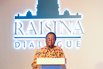 Ministerial Address by Minister Naledi Pandor at the Fifth Raisina Dialogue Conference, New Delhi, India, 16 January 2020.