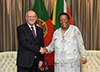 Bilateral Consultations between Minister Naledi Pandor and the Minister of Foreign Affairs of the Republic of Portugal, Prof Augusto Santos Silva, Pretoria, South Africa, 21 February 2020.