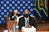 Meeting of Ministers of the Southern African Development Community (SADC) Virtual Organ Troika Summit Plus Force Intervention Brigade – Troop Contributing Countries (FIB - TCC) and the Democratic Republic of Congo (DRC), Pretoria, South Africa, 5 August 2020.
