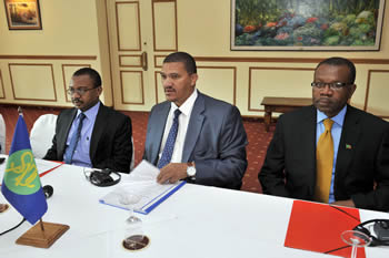 SADC Troika Meeting with Madagascar Political Role Players: