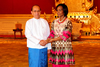 Minister Maite Nkoana-Mashabane, pays a Courtesy Call on H E Thein Sein, President of the Union of Myanmar, Nay Pyi Taw, Myanmar, 4 September 2012.