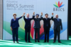 Family photograph of the BRICS Leaders during the 4th BRICS Summit in New Delhi, India, 29 March 2012.