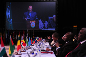 President Jacob Zuma remarks at the Opening of the Global African Diaspora Summit, 25 May 2012.