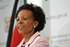 Minister Maite Nkoana-Mashabane briefs the media on international developments, OR Tambo Building, Pretoria, South Africa, 07 June 2013.