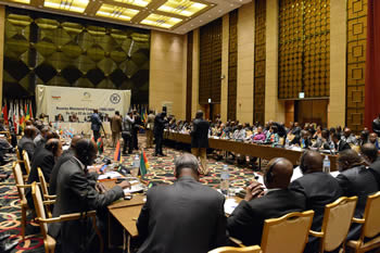 A wide view of the Joint SADC-ICGLR Ministers' Meeting, Luanda, Angola, 1-2 July 2014.