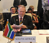 Dr Rob Davies, Minister of the Department of Trade and Industry (DTI), leads the South African Delegation at the Third COMESA-EAC-SADC Tripartite Council of Ministers Meeting, Sharm El Sheikh, Egypt, 8 June 2015.