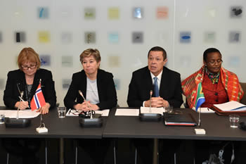 Opening of the High Level Consulations between South Africa and Norway, Oslo, Norway, 24 November 2015.