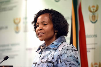 Minister Maite Nkoana-Mashabane briefs the media on the BRICS Summit and African Union (AU) Summit outcomes, Pretoria, South Africa, 3 July 2015.