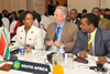 Minister Maite Nkoana-Mashabane and Minister Rob Davies participate in the Southern African Development Community (SADC) Council of Ministers Meeting. The Meeting precedes the SADC Extra-Ordinary Summit of Heads of State and Government on Industrialisation in the Region, Harare, Zimbabwe, 27 April 2015.