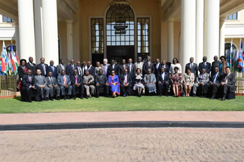 The SADC Council of Ministers Meeting, Gabarone, Repubic of Botswana, 14-15 August 2015.