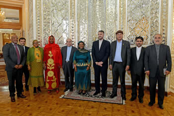 Family photo of South African and Iranian Deputy Ministerial Working Group Tehran, Islamic Republic of Iran, 29-30 August 2015.