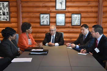 Bilateral Meeting between Minister Maite Nkoana-Mashabane and the Minister of Foreign Affairs of Algeria, Mr Ramtane Lamamra, Oslo, Kingdom of Norway, 26-27 May 2016.
