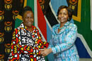 Working Visit by the Minister of Foreign Affairs of Botswana, Dr Pelonomi Venson-Moitoi, to South Africa to attend and co-chair the Third Session of the Botswana - South Africa Bi-National Commission with Minister Maite Nkoana-Mashabane, O R Tambo Building, Pretoria, South Africa, 10 November 2016.