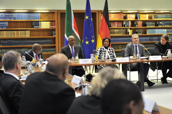 Ninth South Africa - Germany Bi-National Commission, Berlin, Germany, 14-15 November 2016.