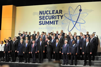 Group photograph of the 2016 Nuclear Security Summit (NSS 2016), Washington D.C, USA, 31 March - 1 April 2016.