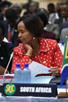 Minister Maite Nkoana-Mashabane leads the South African delegation at the SADC Council of Ministers Meeting, Mbabane, Kingdom of Swaziland, 26 August 2016.