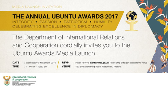 Annual UBUNTU Awards 2017