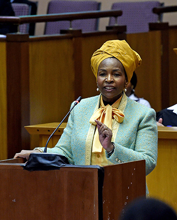 Budget Vote Speech by Minister Maite Nkoana-Mashabane, Cape Town, South Africa, 25 May 2017.