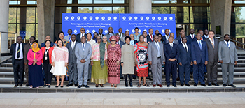 Group photograph of the SADC Council of Ministers, O R Tambo Building, Pretoria, South Africa, 16 August 2017.