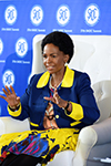SABC Morning Live Breakfast Session at the 37th SADC Summit with Minister Maite Nkoana-Mashabane, O R Tambo Building, Pretoria, South Africa, 16 August 2017.