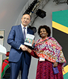 Deputy Minister of International Relations and Cooperation, Ms Nomaindiya Mfeketo, undertook an official visit to Astana, Kazakhstan, from 17 to 20 July 2017. On 10 June 2017, South Africa became one of 115 countries and 22 international organisations to participate at EXPO 2017 which is hosted in Astana until 09 September 2017. South Africa's exhibition is focused on achievements with regard to the Square Kilometre Array (SKA) project, , 17-20 July 2017.