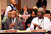 President Jacob Zuma, accompanied by Minister Maite Nkoana-Mashabane and Minister Edna Molewa, attend the Meeting of the Committee of African Heads of State and Government on Climate Change (CAHOSCC), African Union Permanent Observer Mission House, New York, USA, 18 September 2017.